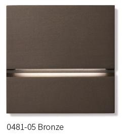 Basalte via Orientierungslicht 0481-05 Bronze