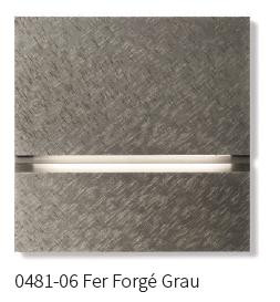 Basalte via Orientierungslicht 0481-06 Fer Forgé grau