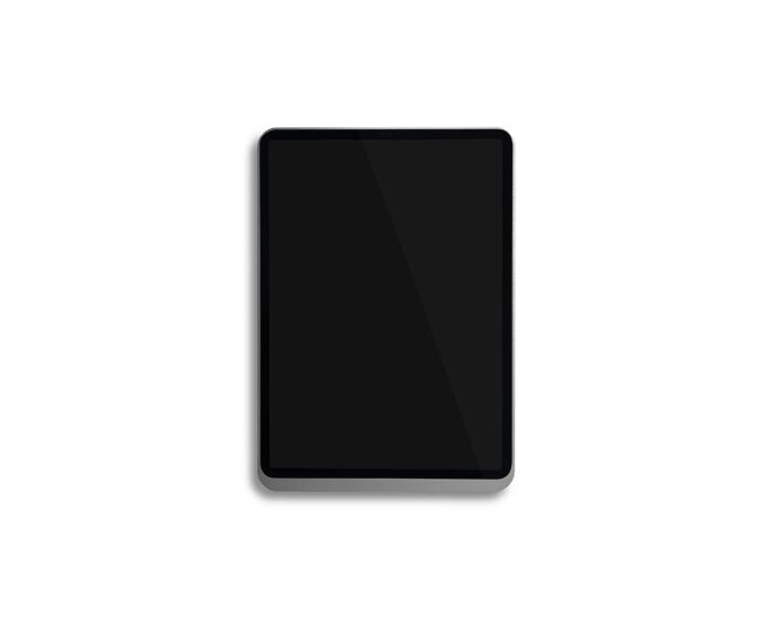 "Basalte 0676-01 iPAD Wandhalterung Eve Air 11"" - brushed aluminium"