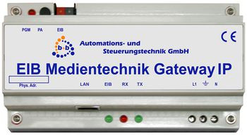B+B Automation EIB Medientechnik Gateway IP (REG)