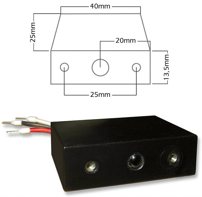 B+B Automation EIB IR Sensor (Einbaumodul)