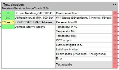 12760 Netatmo HomeCoach, HomeServer Baustein