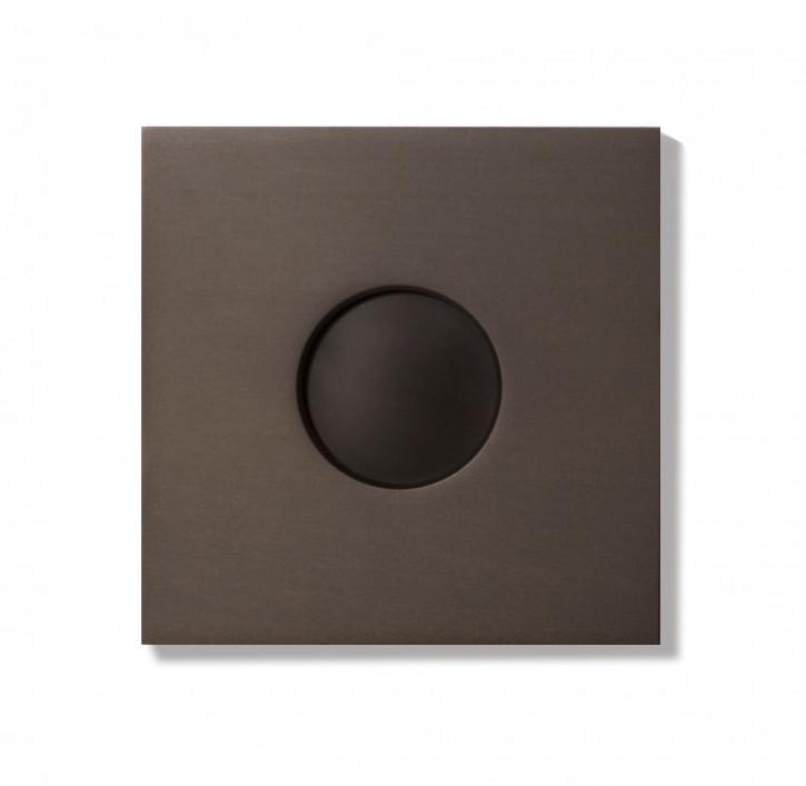 Basalte 0181-05 AURO Frontplatte für Wandeinbau - bronze