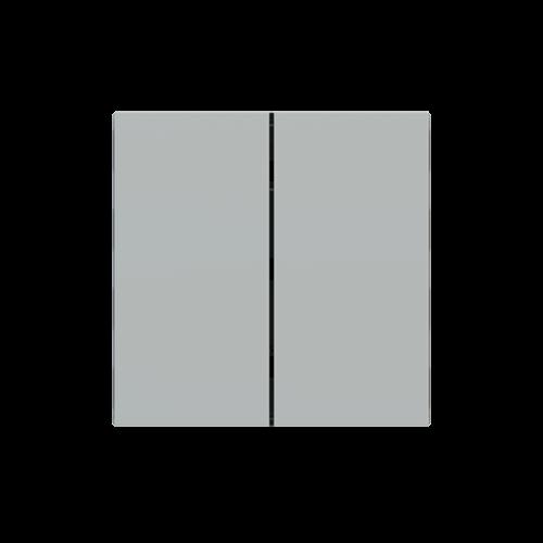 "EKINEX EK-TRV-FGE Tasten für 4fach Tasterelektronik, FF-Serie, 2 Stück, FENIX NTM®, Farbe ""grey efeso"""