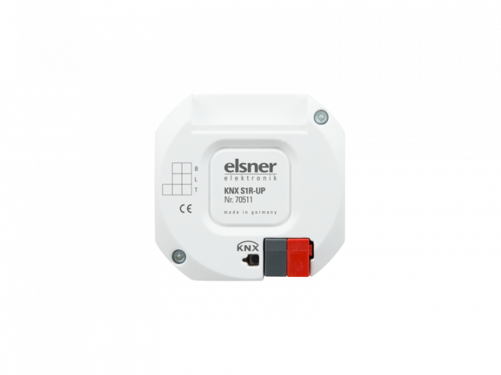 Elsner KNX S1R-UP Version 4.0 Aktor mit Multifunktions-Ausgang