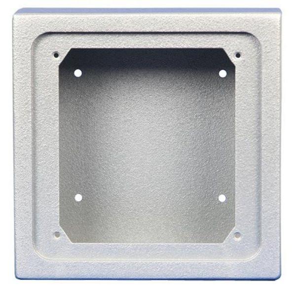 GePro-MAT/SS-APAL MAT-Nebenstelle mit Schlüsselschalter inkl. Lasergravur, Aluminium eloxiert, Ausführung Aufputz