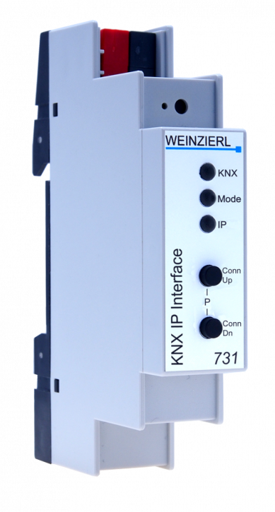 Weinzierl 5248 KNX IP Interface 732 secure, Secure KNX IP Interface - 1TE (18mm)