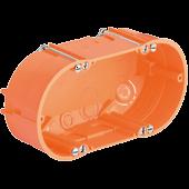 KAISER 9062-02 Doppel-Geräte-Verbindungsdose für Hohlwand/Rigips