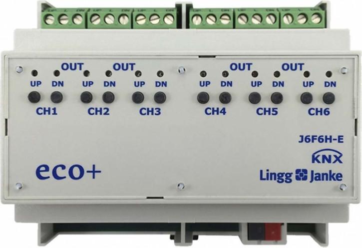 Lingg&Janke 79438 J6F10H-E Jalousie- / Rollladenaktor 6-fach   10A