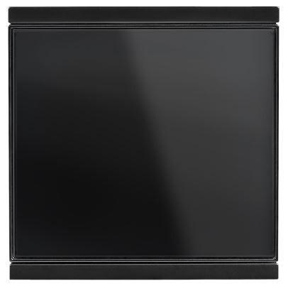 Elsner Corlo Taster M1-T schwarz, Rand schwarz matt