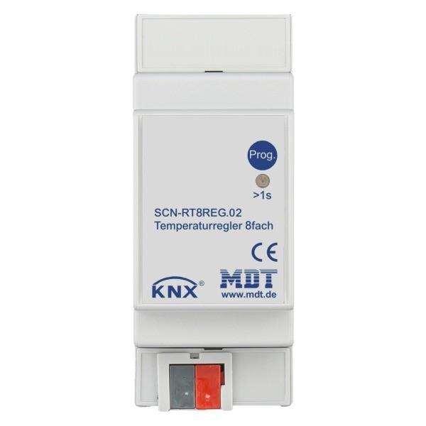 MDT SCN-RT8REG.02 Temperaturregler 8-fach, 2TE, REG