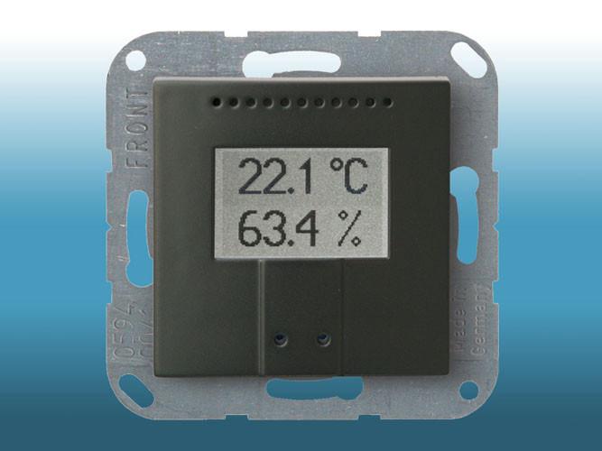 Elsner KNX TH-UP Temperatur/Feuchte anthrazit (abgelöst 25.07.2017)