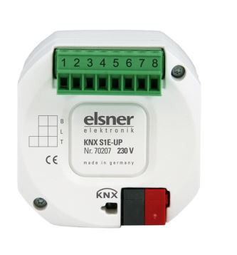 Elsner KNX S1E-UP 230 V elektronisch schaltend; Auslaufartikel! Nachfolger 70517