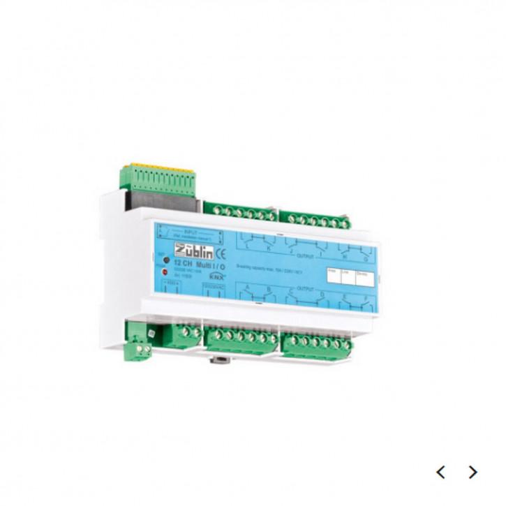 Züblin 11500 KNX Schaltaktor 12-CH Multi I/O KNX, 12 Kanal, Universal KNX Binär-/Tasterschnittstelle 12-fach