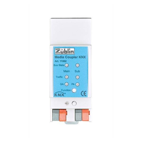 Züblin 11502 KNX TP Media Coupler, KNX-Linienkoppler