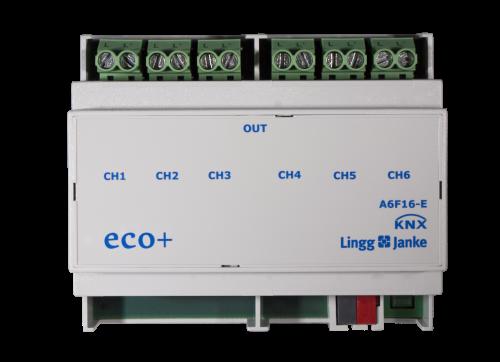Lingg&Janke eco+ Schaltaktor 6-fach A6F16-E