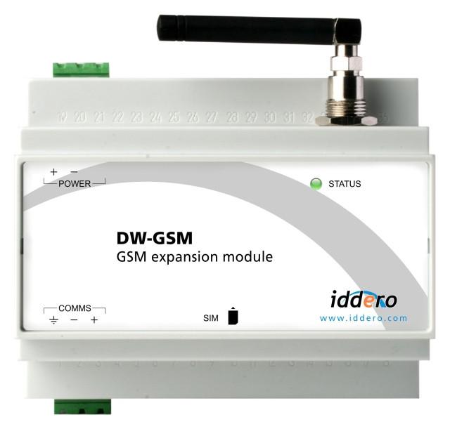 IDDERO DW-GSM - GSM Erweiterungsmodul