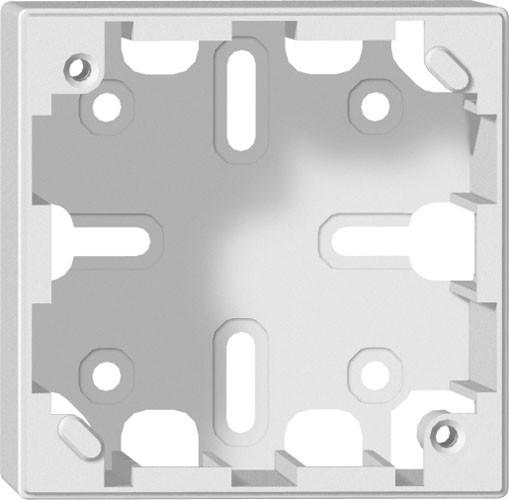 ABB AP-Gehaeuse,Sidus,1x1, weiss 75x75mm 38mm