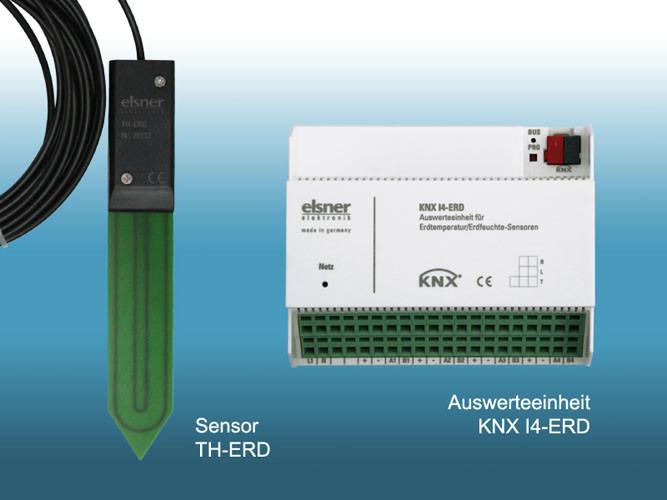 Elsner KNX I4-ERD Erdtemperatur/-feuchte