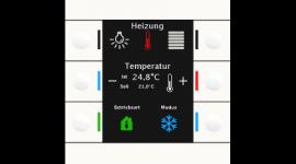 MDT BE-TAS86.01 Taster Smart 86 4/6/8/12-fach, Kunststoff, Reinweiß glänzend