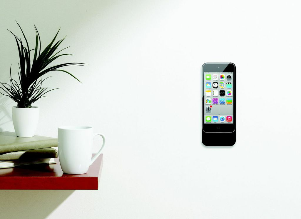 basalte eve ipod touch rahmen halterung weiss. Black Bedroom Furniture Sets. Home Design Ideas