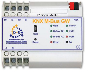 B+B Automation KNX M-Bus Gateway (REG)