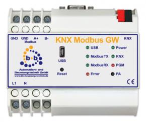 B+B Automation KNX Modbus Gateway (REG)