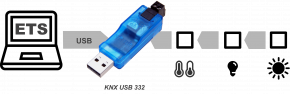 Weinzierl KNX USB Interface 332 - USB-Stick