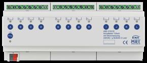 MDT AMI-1216.02 Schaltaktor 12-fach, 12TE, REG, 16A, 230VAC, C-Last 200µF, industrie, mit Strommessung