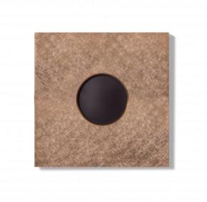 Basalte 0181-19 AURO Frontplatte für Wandeinbau - fer forgé rosé