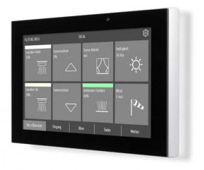 ELSNER 71270 Fabro KNX Touchpanel, Anzeige und Bedienpanel, Schutzart IP66, Alugehäuse