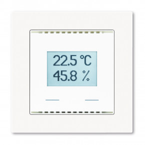 Elsner KNX AQS/TH-UP Touch weiss, Innenraum-Kombisensor: CO2, Temperatur, Feuchte