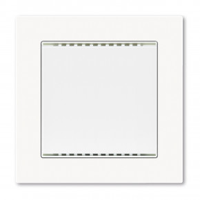 Elsner KNX TH-UP gl weiss, KNX TH-UP Kombi-Innenraumsensor: Temperatur + Feuchte