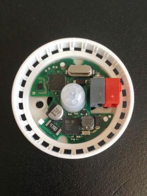Elsner Mini-Sewi KNX TH-Pr Präsenzmelder mit Temperatur-/Feuchtesensor