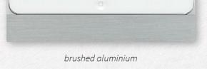 """Basalte Eve Pro 12.9"""" cover - square - brushed aluminium"""
