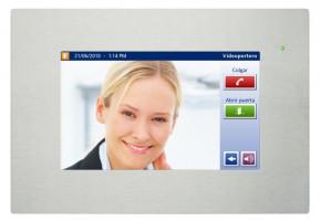 IDDERO TONE7-A TouchOne 7 Zoll Touchpanel für SIP Video Türkommunikation, Frontrahmen Aluminium