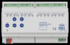 MDT JAL-0810.02 Jalousieaktor 8-fach, 8TE, REG, 10A, 230VAC