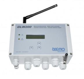 TELMA GLW200 Wassermeldezentrale für Funk- und kabelgebundene Sensoren