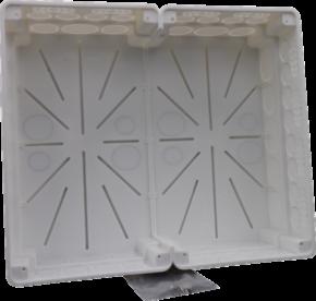 GePro-TAB32UP-Box-3321100 - Unterputzgehäuse, inkl. Schraubensatz, für alle Geräte der Tableau-Serie 32