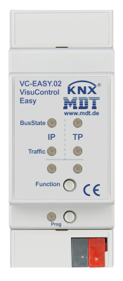 MDT VC-EASY.02 VisuControl Easy, KNX Server mit IPhone/IPad App, 2TE,  REG