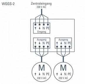 Elsner 2032 WGGS-2 Gruppensteuerrelais, 2 Ausgänge, mit Anschlussklemmen