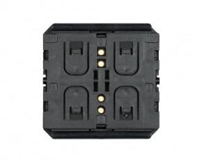ZF AFIM-1010 KNX-RF Tastermodul 2fach, batterielos, passend für alle Enocean Tastergehäuse